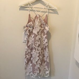 White lace sparkle LF dress